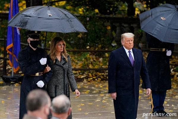 ملانیا ترامپ در مراسم