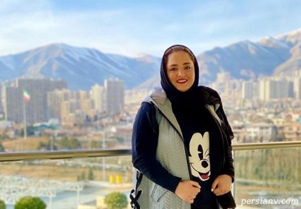 عکس بعد از ورزش نرگس محمدی با خواهرش