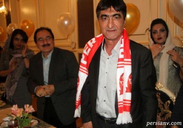 ناصر محمدخانی و همسر جدیدش در جشن تولد پسر ۲ساله اش