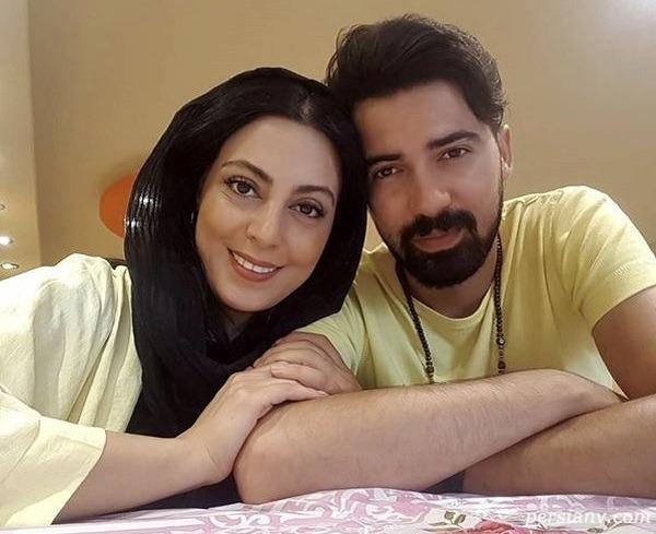 تصاویر جدید نیلوفر شهیدی و همسرش