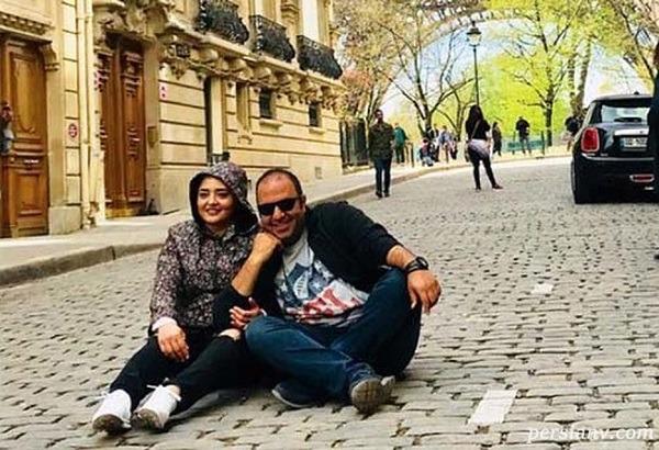 زوج بازیگر در خارج