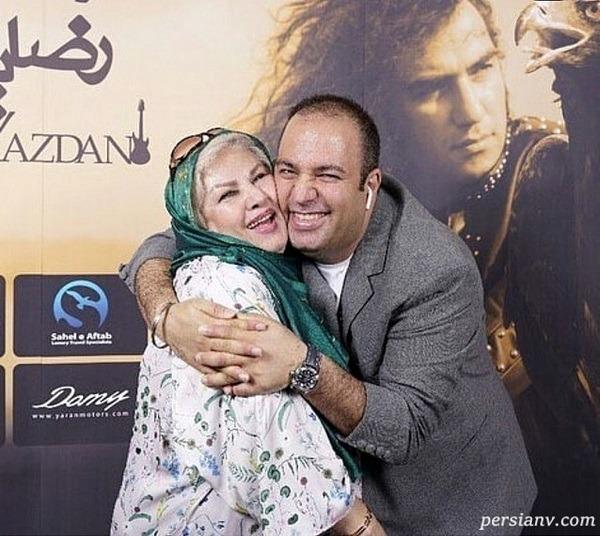 علی اوجی و مادرش