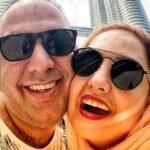 تصویر جدید زوج بازیگر معروف علی اوجی و نرگس محمدی