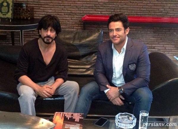 بازیگر ایرانی در کنار شاهرخ خان