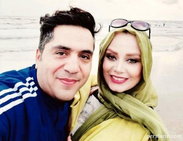 جشن تولد صبا راد در کنار همسرش در ترکیه