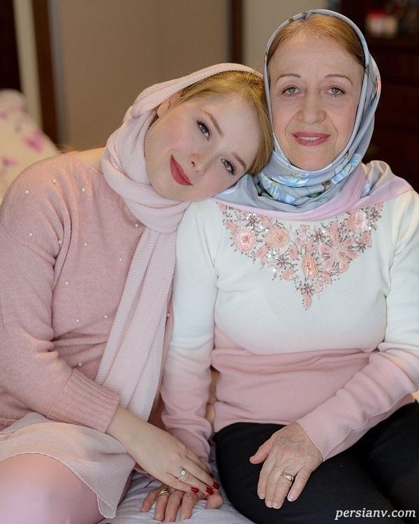 مادر و خواهر لادن سلیمانی