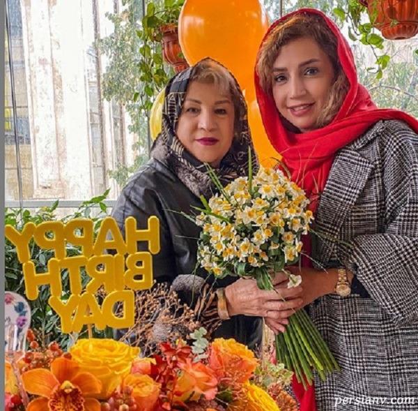 شبنم قلی خانی در جشن تولدش