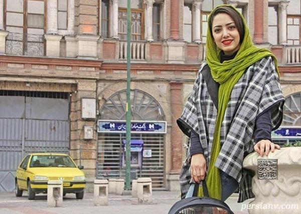 عکس های رنگی و پاییزی شقایق جعفری جوزانی در آجودانیه تهران