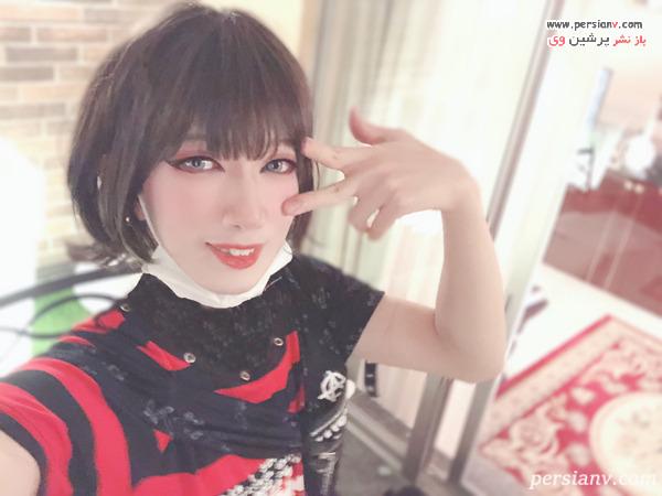 مرد دختر نمای ژاپنی