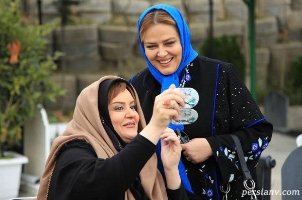 خاطره شیرین نعیمه نظام دوست از اولین دیدار با امیر خسرو عباسی