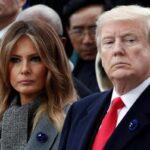 تصویر خبرساز از لحظه رای دهی ترامپ و ملانیا همسرش