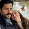 فحریه اوجن بازیگر ترکیه و همسرش بوراک اوزچیویت و پسرش کاران
