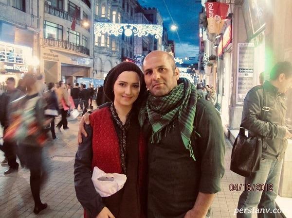 مجری زن و همسرش