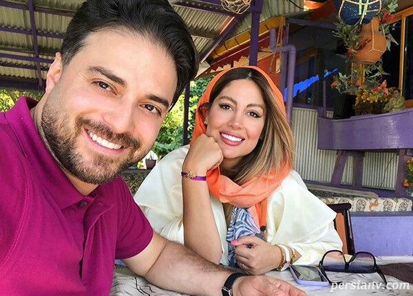 پریا پرتوی فر و همسرش