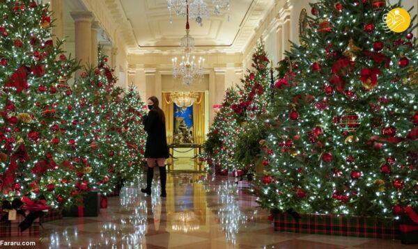 تصاویری از داخل کاخ سفید