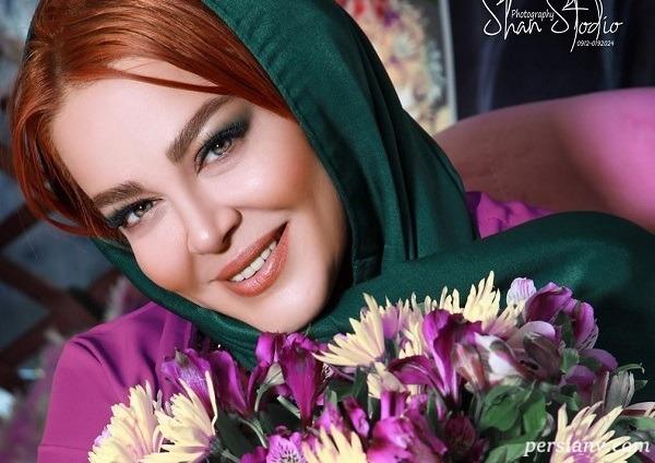 بهاره رهنما در جشن تولدش در کنار طراح لباسش