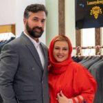 دختر امیر خسرو عباسی همسر بهاره رهنما در کنار پدرش در یک رستوران شیک