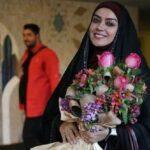 سفره زینبی الهام چرخنده در شب یلدا در کربلای معلی
