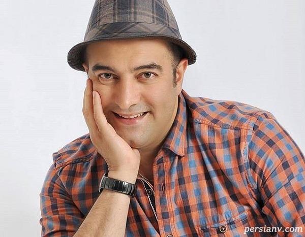 عضو جدید خانواده مجید صالحی بازیگر در کنار حنا و اروین فرزندانش