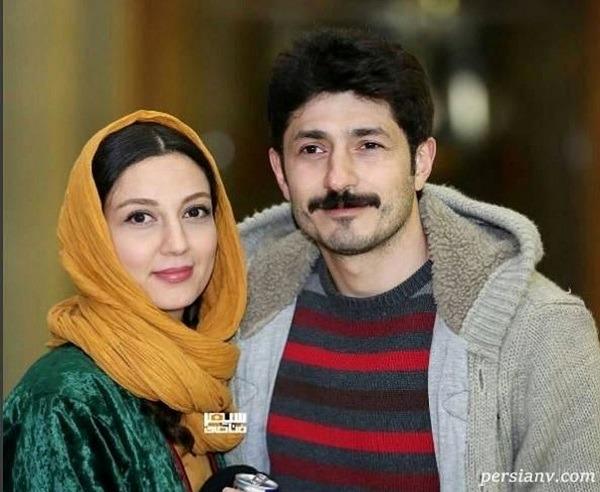 مجتبی رجبی و همسرش
