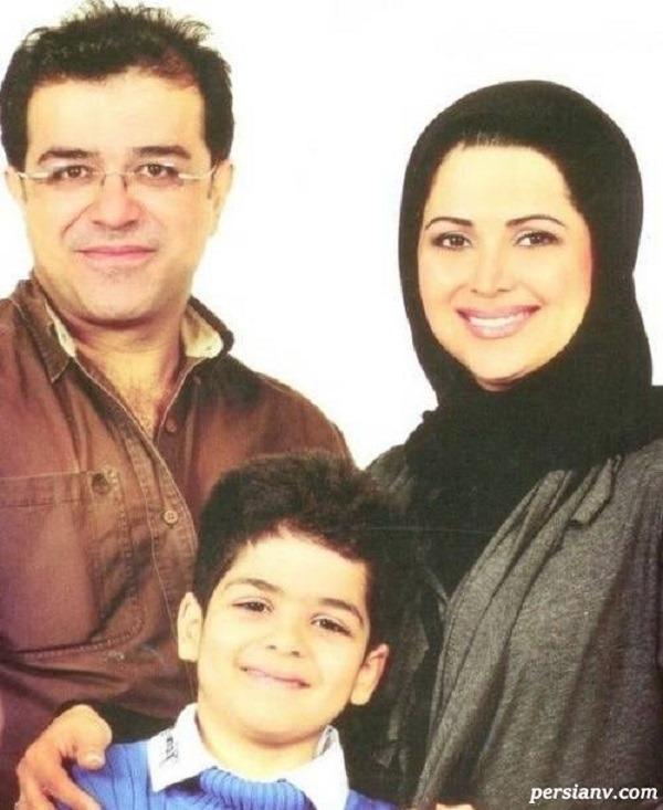 کمند امیرسلیمانی و همسرش