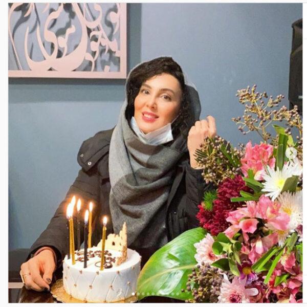 کیک تولد لیلا بلوکات
