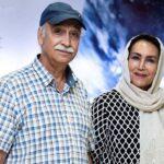محمود پاک نیت به همراه همسرش , پسر و عروسش