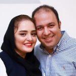 سلفی جالب علی اوجی و همسرش نرگس محمدی خارج از کشور