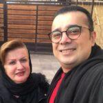 سپند امیرسلیمانی در پارک اسباب بازی میدان تجریش تهران