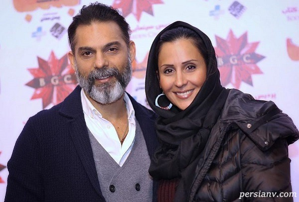 آقای بازیگر و همسرش