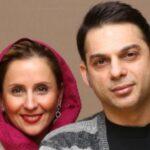 مهناز افشار همراه پیمان معادی و مادرش در لاهیجان