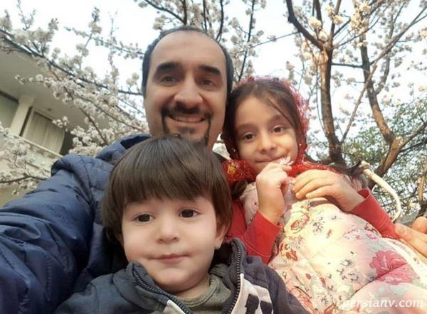مجری معروف و فرزندانش