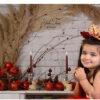 تصاویر هانا پاک نیت با تم زیبای قرمز یلدایی