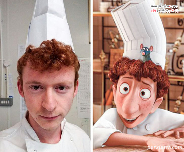 شخصیت انیمیشن موش سرآشپز