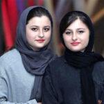 تصاویر جدید سارا و نیکا فرقانی و مادرشان در روز برفی