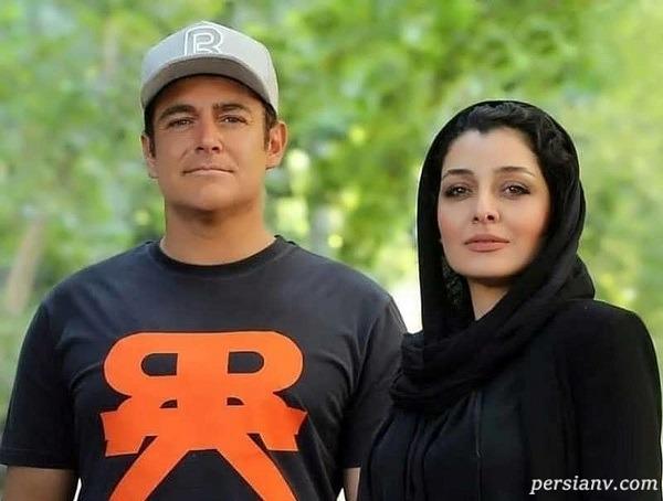 ساره بیات و رضا گلزار در آخرین روز فیلمبرداری (عاشقانه ۲)