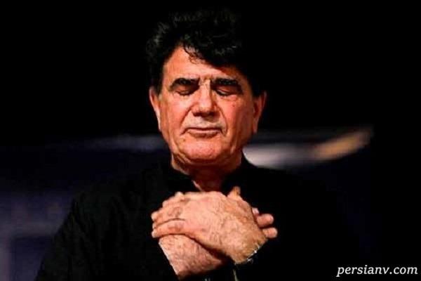 تصویر سنگ مزار محمدرضا شجریان خواننده مرحوم