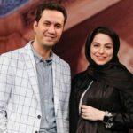 مجتبی کشاورز همسر محیا اسناوندی در برنامه یلدایی خانم مجری