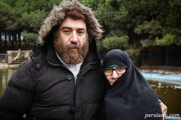 مادر علی انصاریان و پسرش