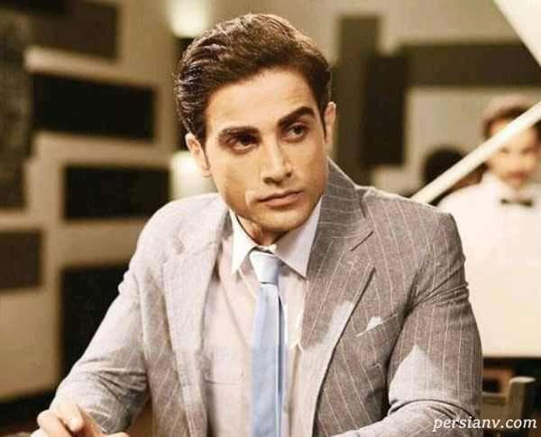 آرمان درویش بازیگر نقش البرز در سریال ملکه گدایان و مادرش