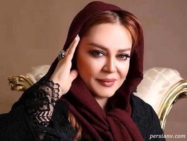 جشن تولد پدر بهاره رهنما و شیطنت خانم بازیگر