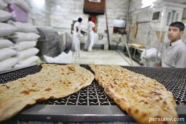عکس شوکه کننده و تاسف بار از یک نانوایی در تهران