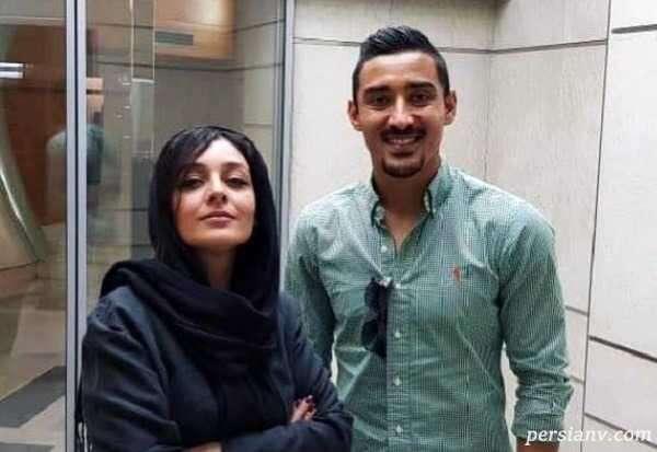 ساره بیات و شوهر خواهر فوتبالیستش