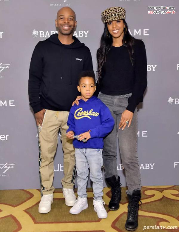 کلی رولاند و خانواده اش