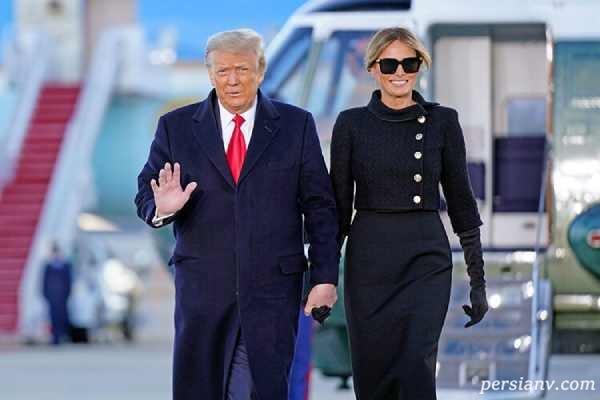 خداحافظی ترامپ