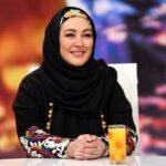لباس الهام حمیدی در برنامه دورهمی مهران مدیری