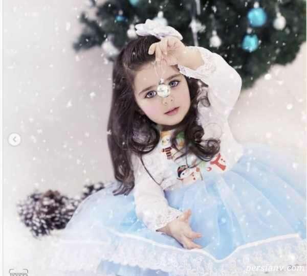 عکس های زمستانی هانا