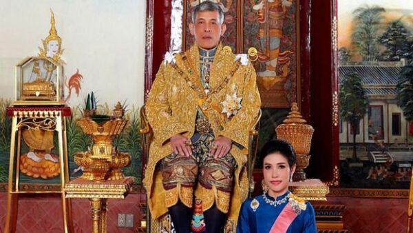 جارو کشی پادشاه تایلند و معشوقه جنجالی اش در زندان خبرساز شد