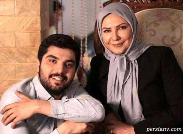 لعیا زنگنه و همسرش