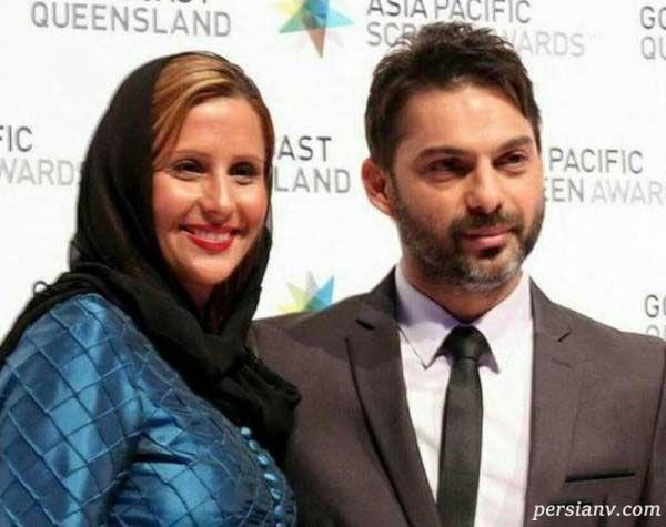 بازیگر ایرانی و همسرش